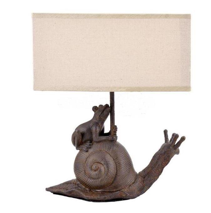 Настольный светильник Лягушка на улитке DE7209