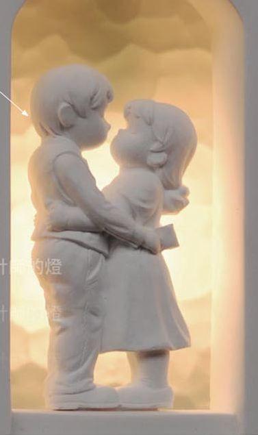 """Настенный светильник """"Счастливые любовники"""""""