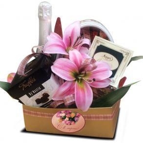 """""""Весенний подарок"""" - розовый"""