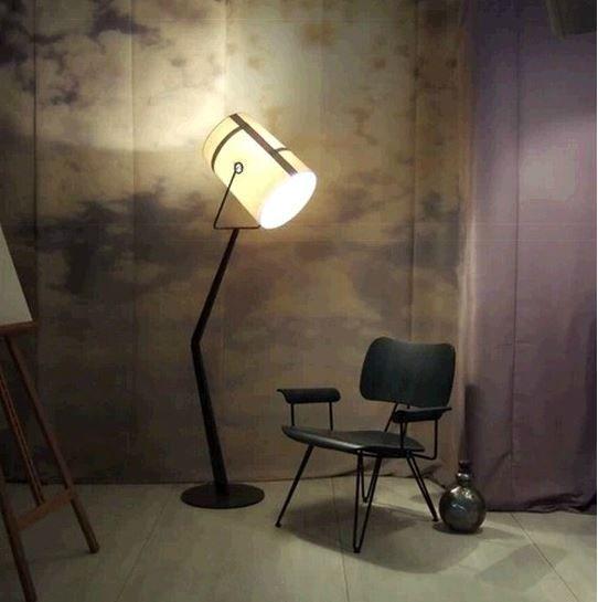 Напольный светильник торшер Singuard  MD-8876 / Foscarini Fork floor lamp