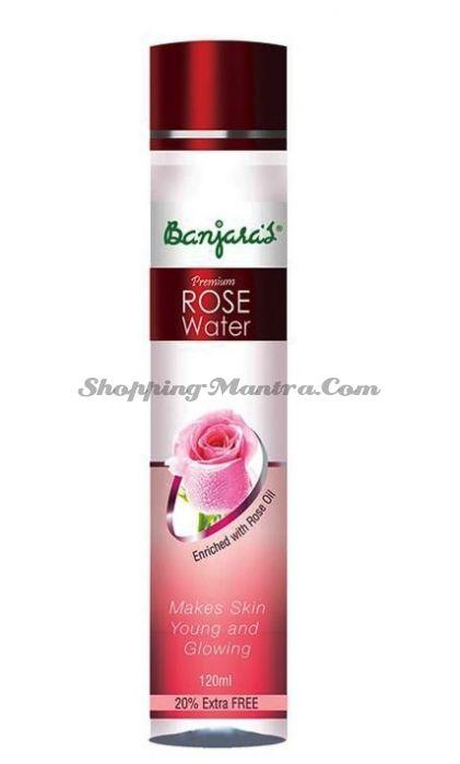 Розовая водя тоник для лица Банджарас / Banjara's Rose Water