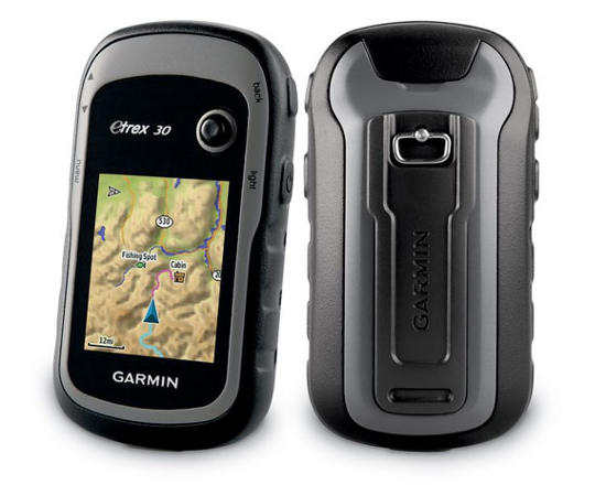 GARMIN eTrex 30x GPS, GLONASS
