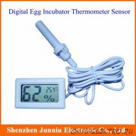 Цифровой электронный термометр - гигрометр для инкубатора