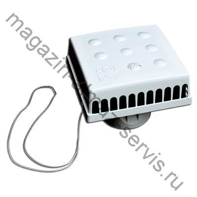 Оголовок приточного клапана инфильтрации воздуха КИВ-125 КВАДРО (QUADRO VORTICE)
