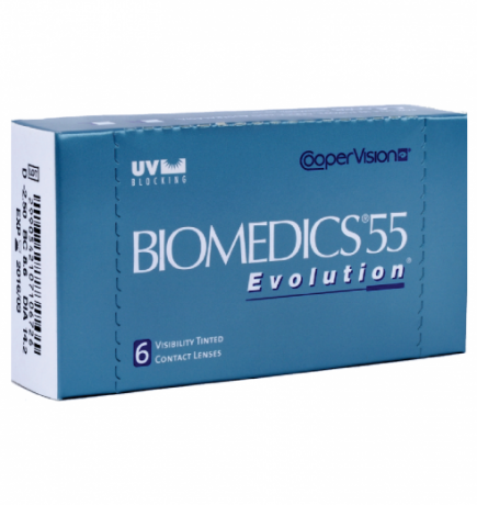 Biomedics 55 Evolution 6pk