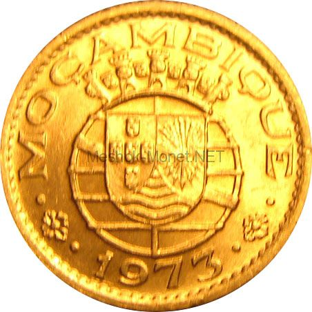 Мозамбик 20 сентаво 1974 г.