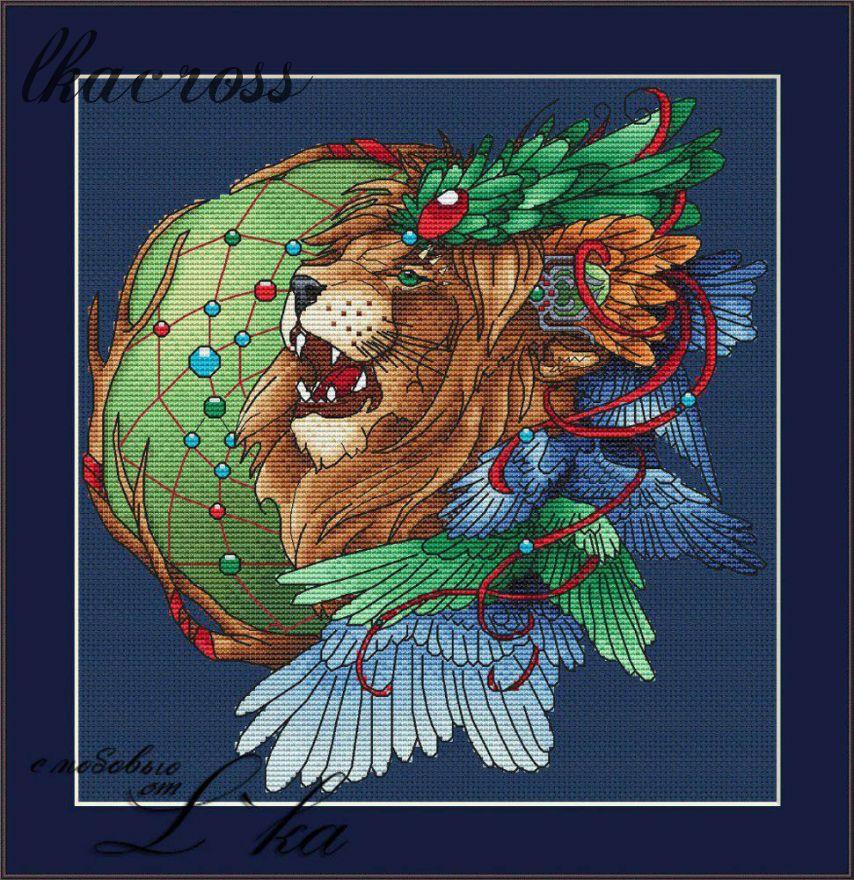 Ловец снов - Лев2