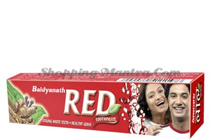 Зубная паста Ред Бадьянатх / Badyanath Red Toothpaste