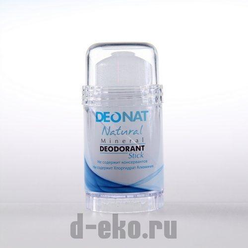 Кристалл - ДеоНат чистый, стик вывинчивающийся