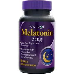 Natrol - Melatonin 5mg (60 таб)