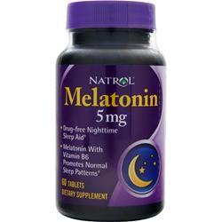 Natrol - Melatonin 5mg (60 таб)
