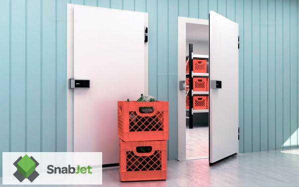 Распашные холодильные двери Общего Назначения