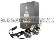 Светодиодные LED лампы цоколь Н4Би 6000k 3000LM (США)