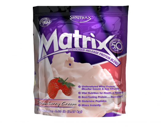 SYNTRAX Matrix 5.0 (2,27кг.) - клубника