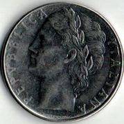 100 лир. 1979 год.  Италия.