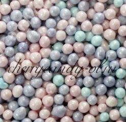 Посыпка шарики лилово-розово-голубые (2 мм)