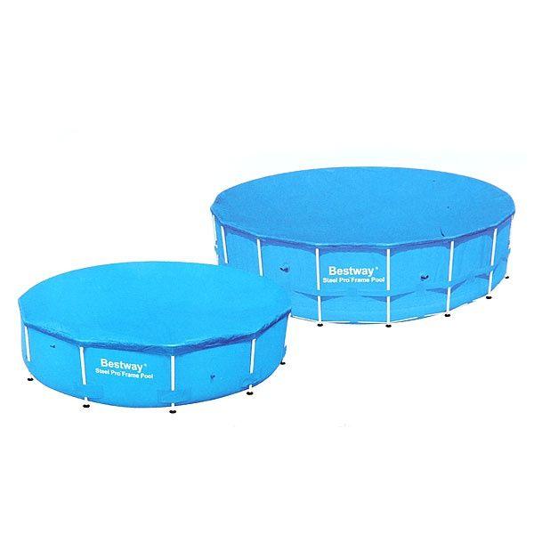 Тент для каркасных бассейнов Bestway 366 см