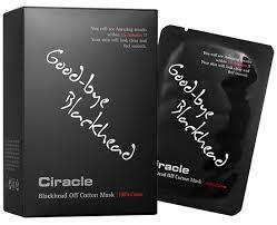 """CIRACLE BLACKHEAD OFF COTTON MASK 1шт./5ml - маска для очищения носа и удаления """"черных точек"""""""