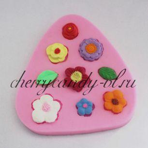 Молд для шоколада/мастики силиконовый  Цветы