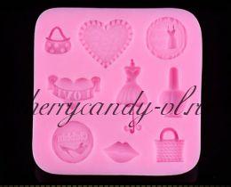 Молд для шоколада/мастики силиконовый For girls