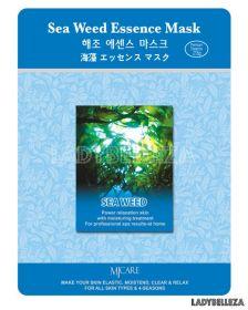 MJ CARE Sea Weed Essence Mask-Тканевая маска с экстрактом морских водорослей.