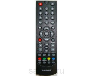 пульт для DVB-T2 REXANT RX-521/CADENA SHTA-1511S2 DIVISAT XYX-828/Telant orig box