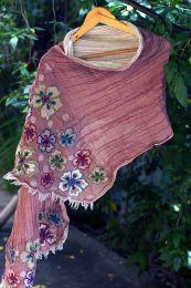 Объёмный шарф из шерсти (под заказ)