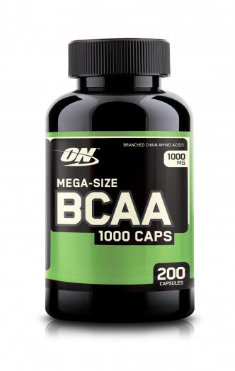 OPTIMUM NUTRITION BCAA 1000 200капс.  скл2