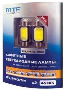 Светодиоды MTF C5W 4500K 36mm