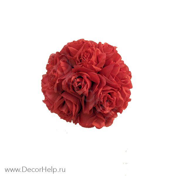 Шар из роз (6шт) арт: DCS006
