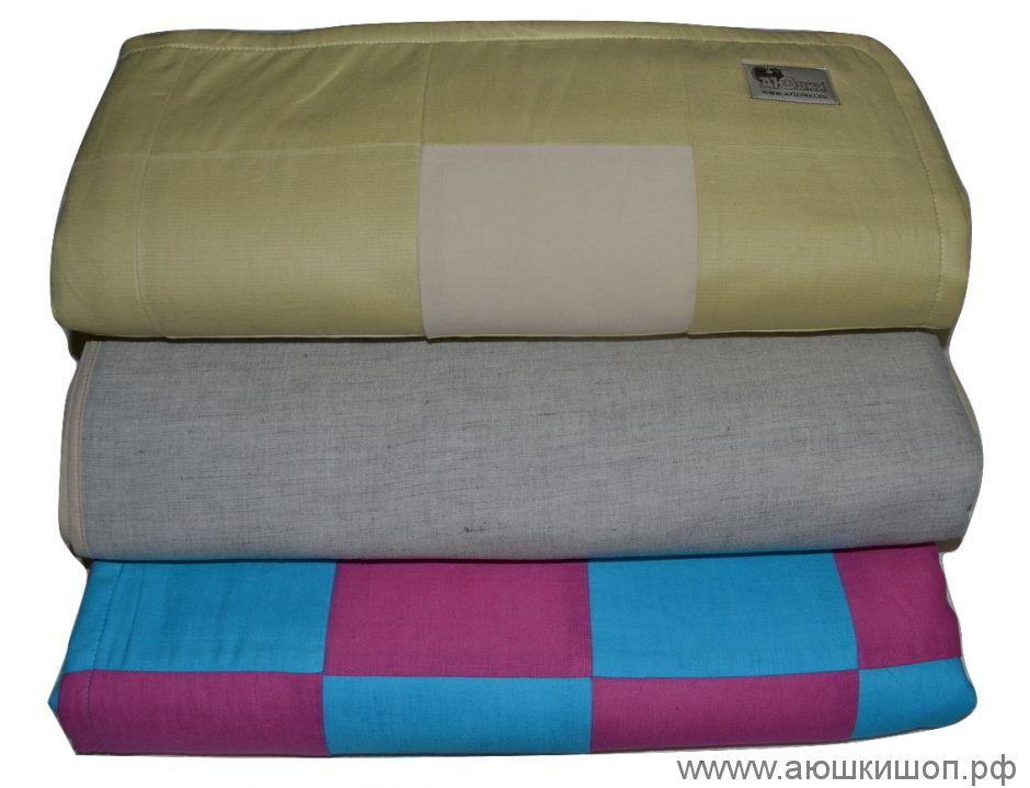 Одеяло дет., полулен (нап-ль - ПЭ пол.)+чехол упак.,полулен