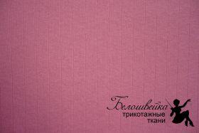"""Интерлок с выставом иглы """"Розовый"""""""