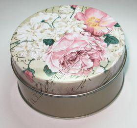 "Подарочная коробка ""Цветок"" круглая"