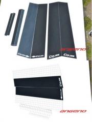 Глянцевые накладки на стойки окон Chevrolet Cruze
