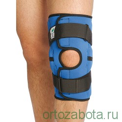 Ортез коленный  из неопрена  с шарнирами, разъемный Orto NKN149