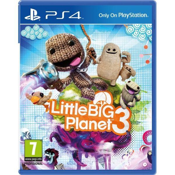 Игра Little Big Planet 3 (PS4)