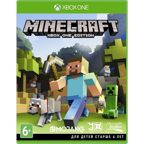 Игра Minecraft + Любимые дополнения (Xbox One)