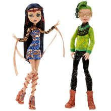 набор из двух кукол  Дьюс и Клео де Нил Бу Йорк - Deuce & Kleo de Nile Boo York