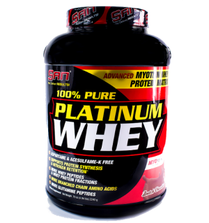 100% Pure Platinum Whey (2270г) от SAN