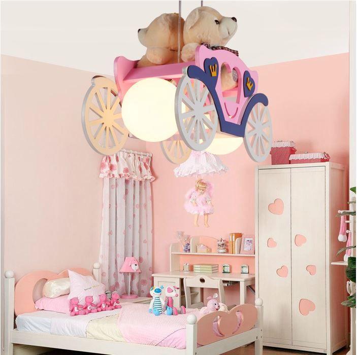 Светильник для детской Карета