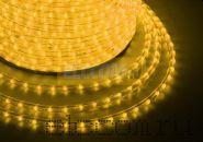 Дюралайт светодиодный, эффект мерцания(2W), желтый, 220В, диаметр 13 мм, бухта 100м, NEON-NIGHT