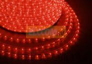 Дюралайт светодиодный, эффект мерцания(2W), красный, 220В, диаметр 13 мм, бухта 100м, NEON-NIGHT
