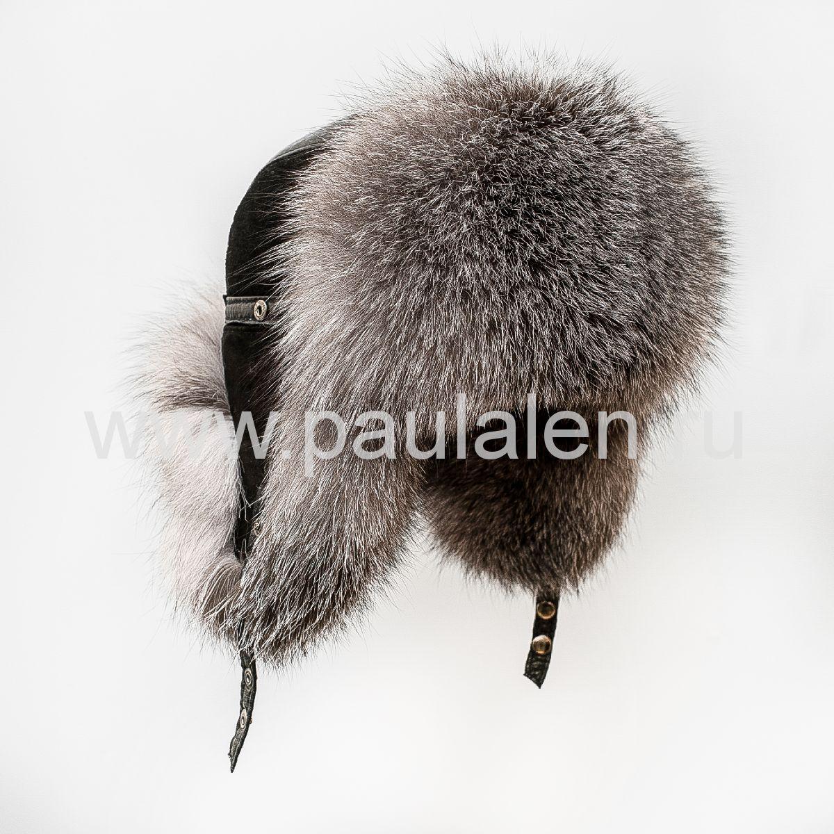 Мужская шапка ушанка Пилот из меха Блюфрост B001