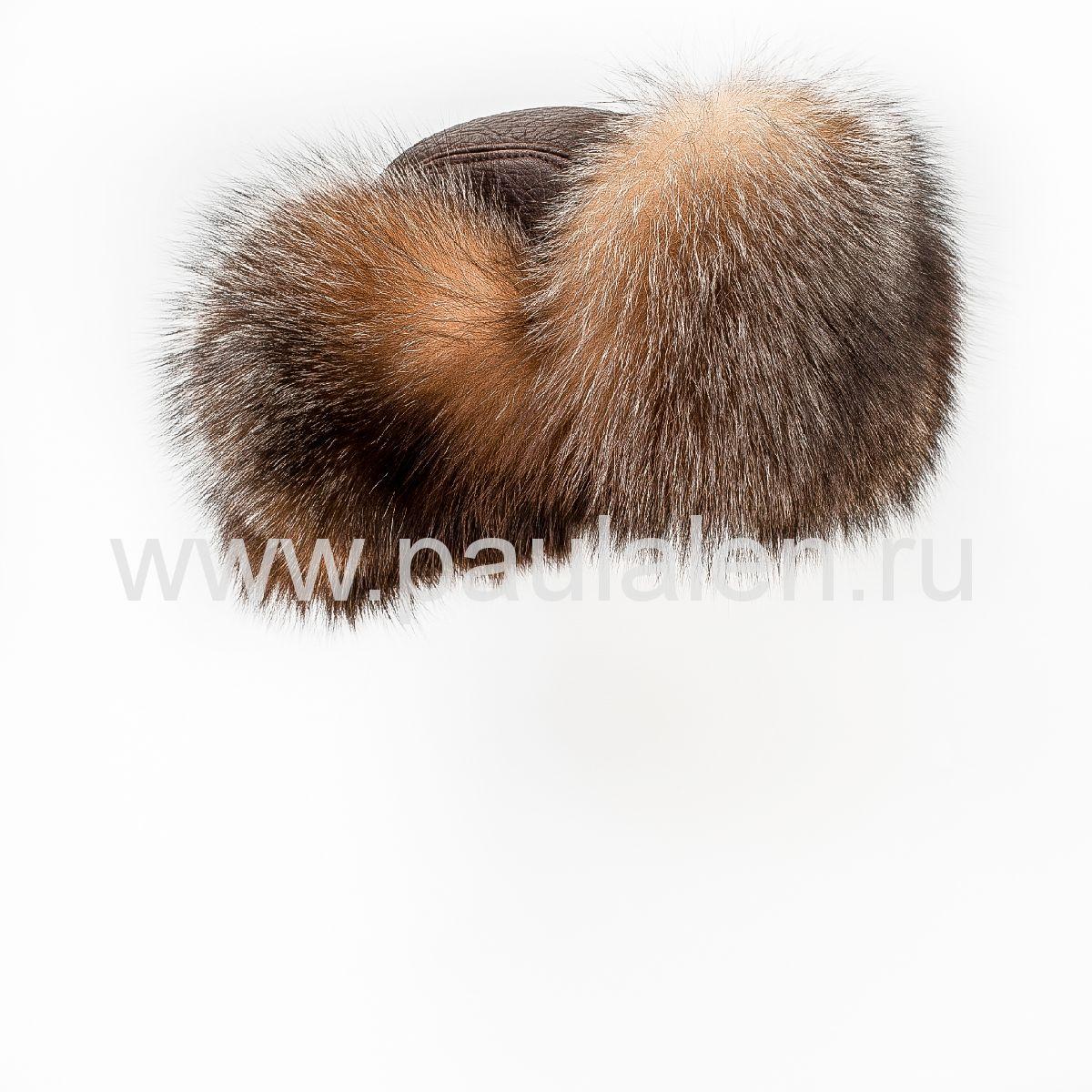 мужская меховая шапка из меха блюфрост