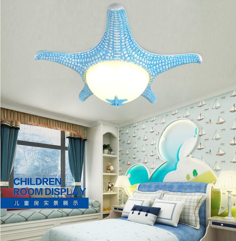Светильник для детской Морская звезда