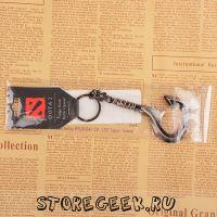 Купить уникальный брелок в виде легендарного хука Пуджа (dragon hook claw) из Доты