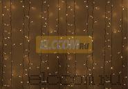 """Гирлянда """"Светодиодный Дождь"""" 2х1,5м, постоянное свечение, белый провод, 220В, диоды БЕЛЫЕ, NEON-NIGHT"""