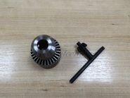 Патрон для дрели с зажиманием сверла (d-13, 1/2) с ключом