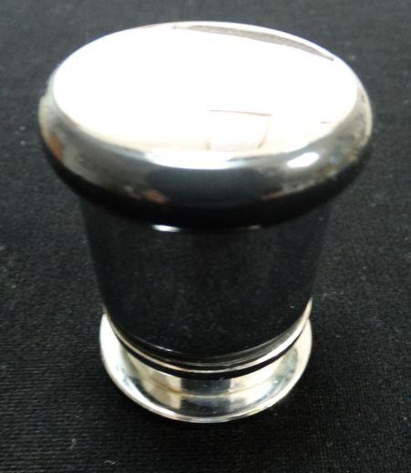 Ручки д/двери на одно отверстие хром (комплект на одну дверь)