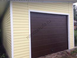 Секционные гаражные ворота Дорхан RSD01 и RSD02 стандартных размеров